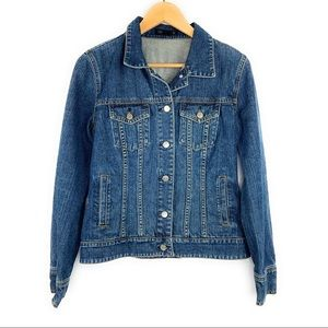 J. Crew Jackets & Coats - Jcrew Classic Denim Jean Jacket Button Front